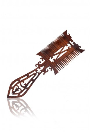 Chasiti Wooden Long Handle  Comb