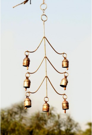 Abstract Copper chime