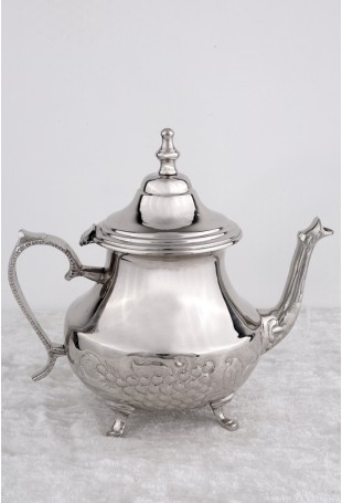 Patterned Moroccan tea kettle(16cups capacity)