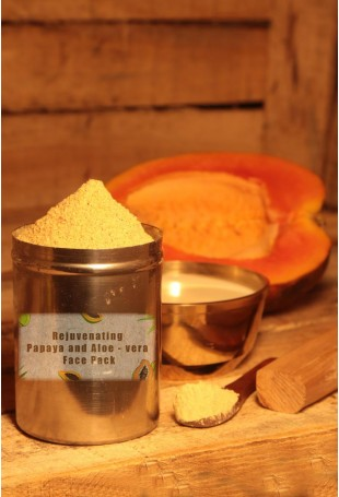 Rejuvenating Papaya and Aloe - vera Face Pack