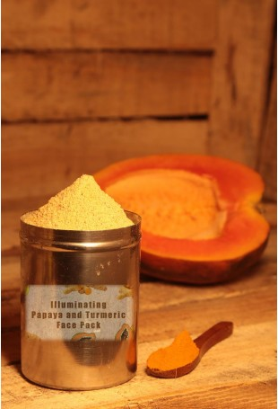 Illuminating Papaya and Turmeric Face Pack