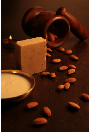 Milk Cream and Almond Bath Bar