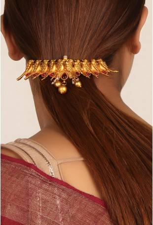 Golden Bird Hair Clip
