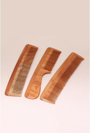 Neem wood comb-Set of 3
